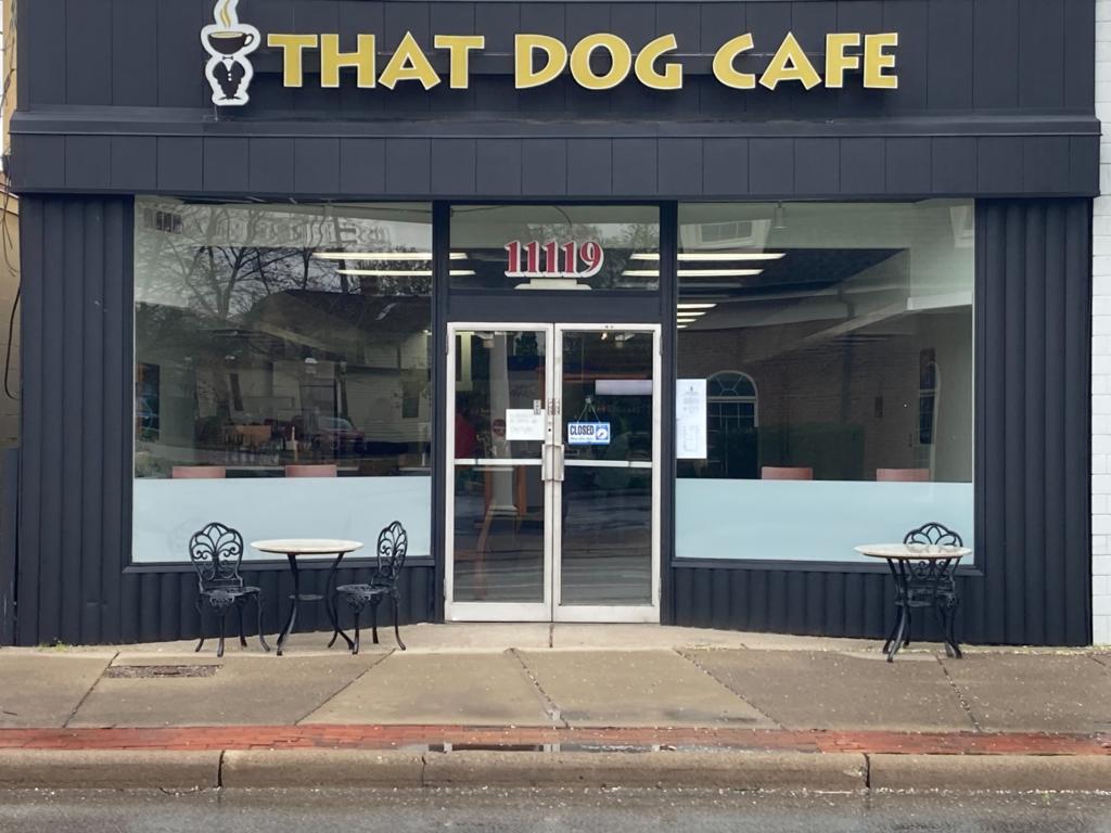 That Dog Cafe Storefront